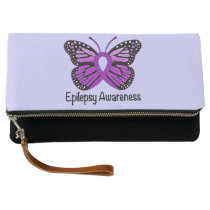 Epilepsy Awareness Clutch