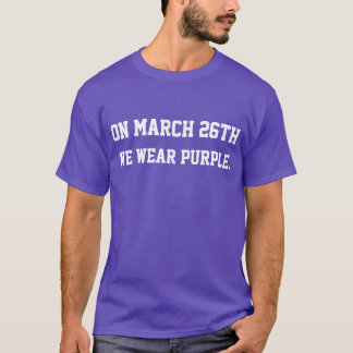 EPILEPSY AWARENESS DAY FUNNY T-SHIRT