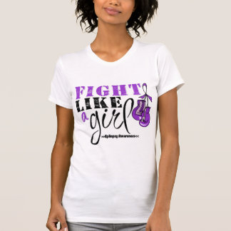 Epilepsy Awareness Fight Like a Girl Shirt