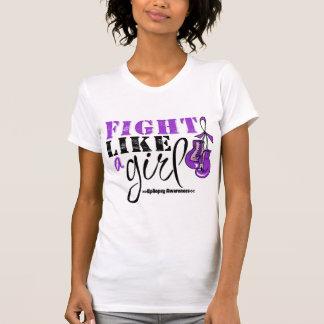 Epilepsy Awareness Fight Like a Girl Tees