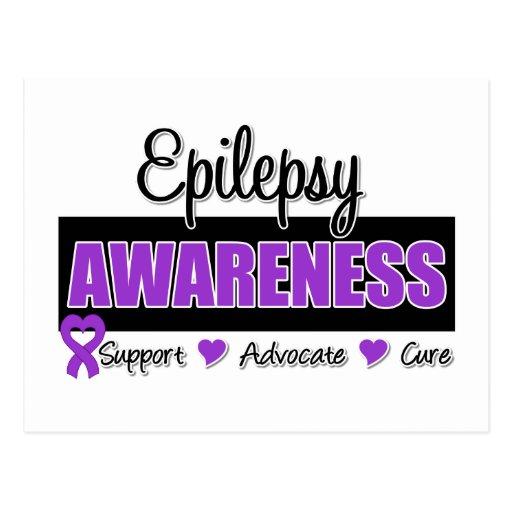 Epilepsy Awareness Postcards