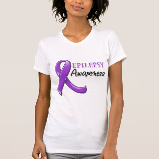 Epilepsy Awareness Ribbon Tshirts