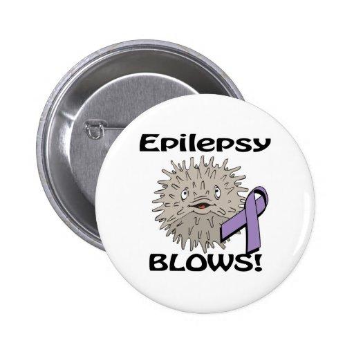 Epilepsy  Blows Awareness Design 2 Inch Round Button