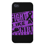 Epilepsy BurnOut Fight Like a Girl Cover For iPhone 4
