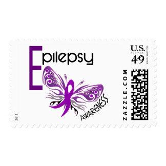 Epilepsy BUTTERFLY 3 Stamps