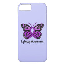 Epilepsy Butterfly Awareness Ribbon iPhone 8/7 Case