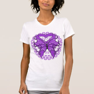 Epilepsy Butterfly Circle of Ribbons Shirt
