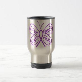 Epilepsy Butterfly Inspiring Words Coffee Mug