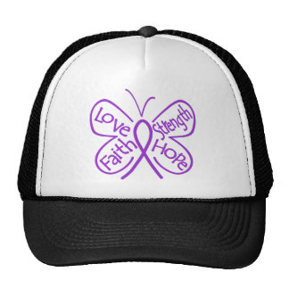Epilepsy Butterfly Inspiring Words Trucker Hat