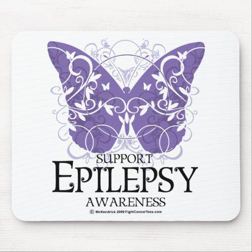 Epilepsy Butterfly Mousepads