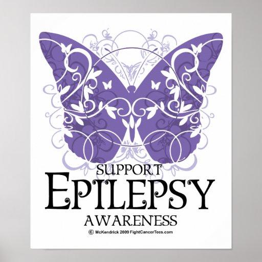 Epilepsy Butterfly Print