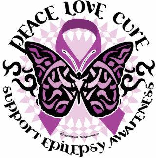 Epilepsy Butterfly Tribal Statuette