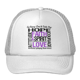 Epilepsy Can't Take My Hope Collage Hat