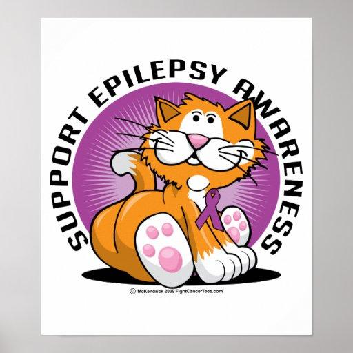 Epilepsy Cat Poster
