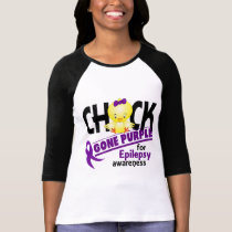 Epilepsy Chick Gone Purple 2 T-Shirt