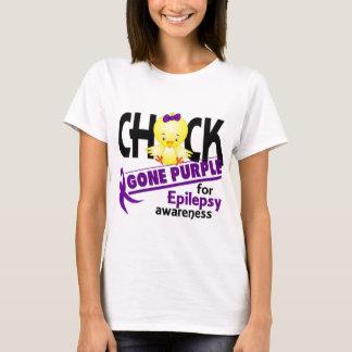 Epilepsy Chick Gone Purple 2 T-Shirt