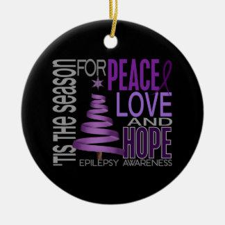 Epilepsy Christmas 1 Ornaments
