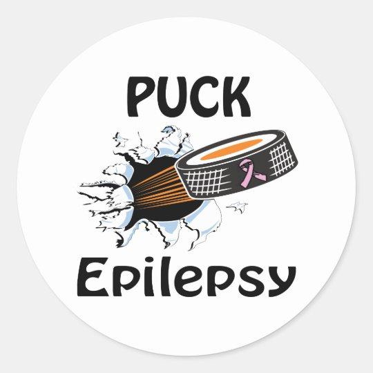 Epilepsy Classic Round Sticker