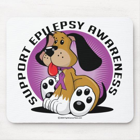 Epilepsy Dog Mouse Pad