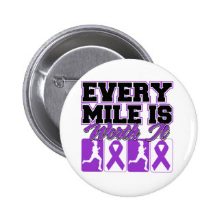 Epilepsy Every Mile is Worth It Pinback Buttons