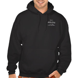 epilepsy, fact: is NOT contagious. - Customized Hoody