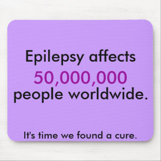 Epilepsy Fact Mouse Pad