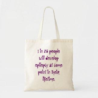 Epilepsy Fact Tote Bag