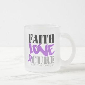 Epilepsy Faith Love Cure Mug