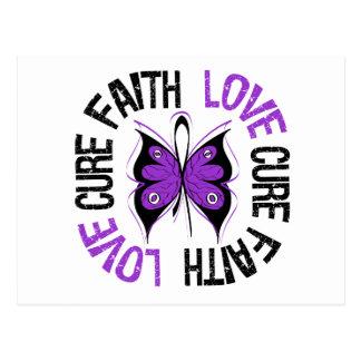 Epilepsy Faith Love Cure Postcard