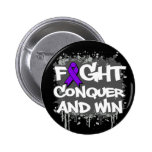 Epilepsy Fight Conquer and Win Buttons