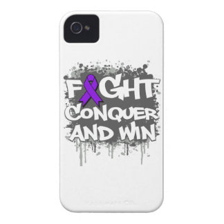 Epilepsy Fight Conquer and Win iPhone 4 Covers