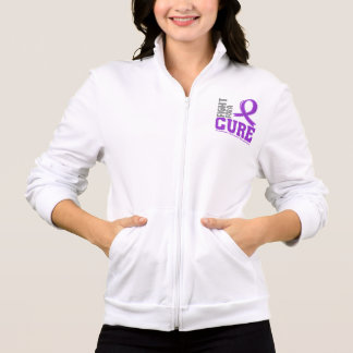 Epilepsy Fight For A Cure Printed Jacket
