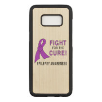 Epilepsy: Fight for the Cure! Carved Samsung Galaxy S8 Case