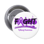 Epilepsy FIGHT Supporting My Cause Button