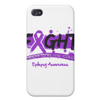 Epilepsy FIGHT Supporting My Cause Case For iPhone 4