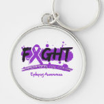 Epilepsy FIGHT Supporting My Cause Key Chains