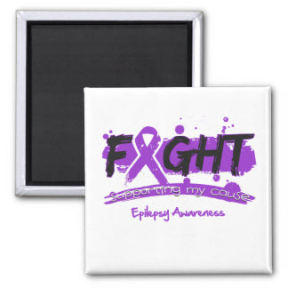 Epilepsy FIGHT Supporting My Cause Magnets