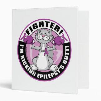 Epilepsy Fighter Cat Binder