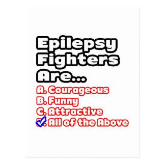 Epilepsy Fighter Quiz Postcard