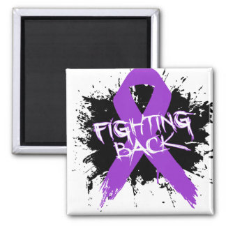Epilepsy - Fighting Back 2 Inch Square Magnet