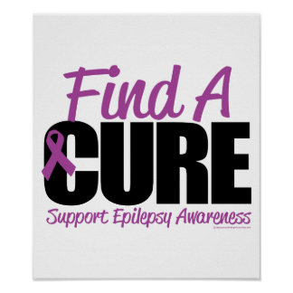 Epilepsy Find A Cure 2 Poster