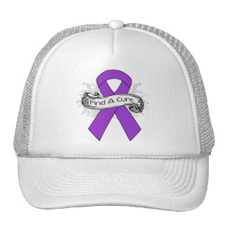 Epilepsy Find A Cure Ribbon Trucker Hat