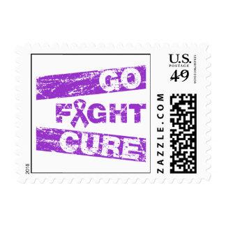 Epilepsy Go Fight Cure Stamp