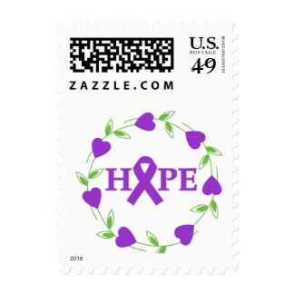 Epilepsy Hearts of Hope Stamps