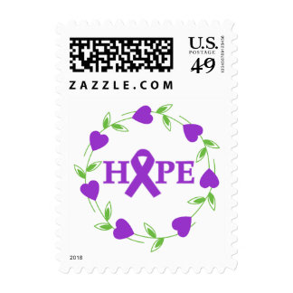 Epilepsy Hearts of Hope Postage Stamps