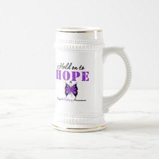 Epilepsy HOLD ON TO HOPE Mug