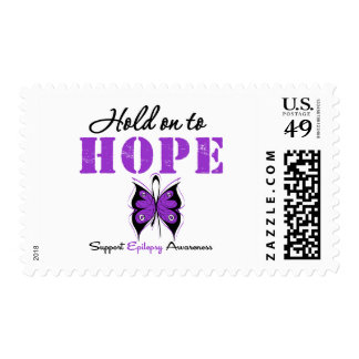 Epilepsy HOLD ON TO HOPE Stamp