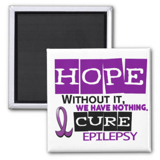 Epilepsy HOPE 2 Refrigerator Magnets