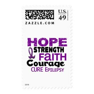 Epilepsy HOPE 3 Postage Stamps