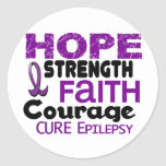 Epilepsy HOPE 3 Stickers